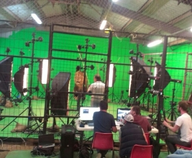3D filming for CGI Animation