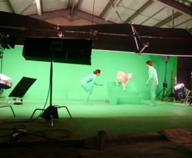 More Green Screen Work at HZG